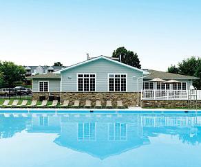Pool, The Apartments at Canterbury