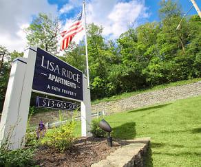 Community Signage, Lisa Ridge Apartments