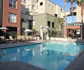 Pool, CentrePointe Apartments