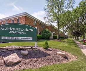 Community Signage, Knickerbocker Apartments
