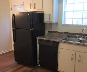 Kitchen, Williamsburg Townhomes