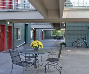 Building, CW Moore Apartments