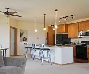Kitchen, Apartments at Midtown