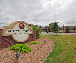 Community Signage, Midway Station