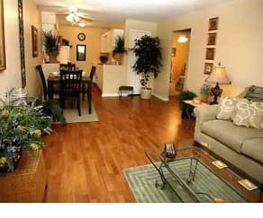 Living Room, Clairborne Court Apartments
