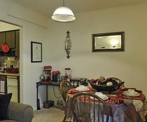 Dining Room, Pembrook Apartments