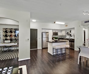Gorgeous High End Features Connect this Kitchen, Dining, and Living Room, Artisan at Main Street Metro