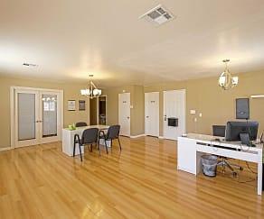 Leasing Office, Rosamond Garden Apartments