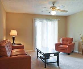 Living Room, Brittwood Apartments