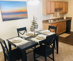 Dining Room, Stonebridge Apartments