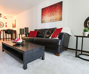 Living Room, Glen Pond Apartments