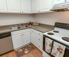 Kitchen, Northridge Apartments