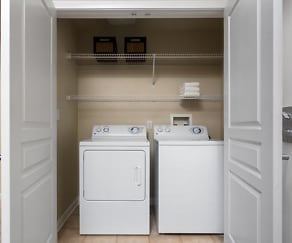 In-unit washer/dryer, Avalon Warner Place