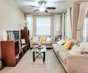 Living Room, The Club at Hidden River