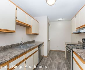 Kitchen, Cinnamon Ridge Apartments