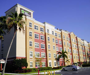 Building, Furnished Studio - Miami - Airport - Doral - 25th Street
