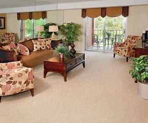 Living Room, Rockdale Gardens Apartments