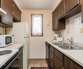 Kitchen, Paradise Lane Apartments