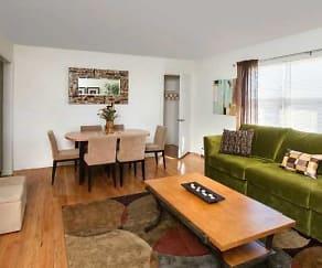 Living Room, Royal Gardens Apartments