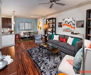 Living Room, Oaks at Johns Creek