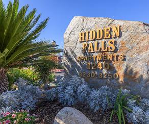 Community Signage, Hidden Falls Apartments