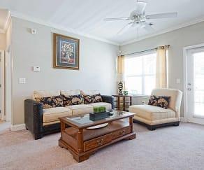 Living Room, Cliff Creek Apartments