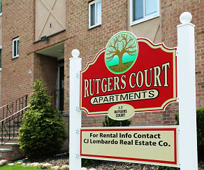 Community Signage, Rutgers Court Apartments