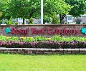 Community Signage, Royal York Management