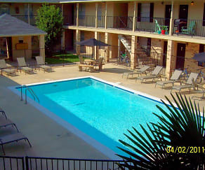 Pool, El Cid Apartments