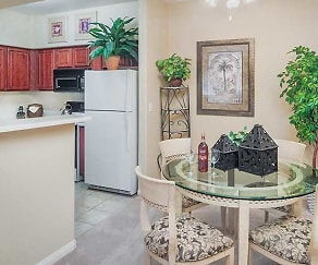 Kitchen, Canyon Villas