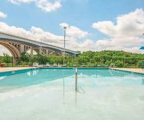 Pool, Valley Manor Apartments