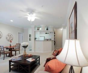 Living Room, Signature Park Apartment Homes