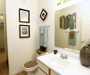 Bathroom, Riverchase Apartments
