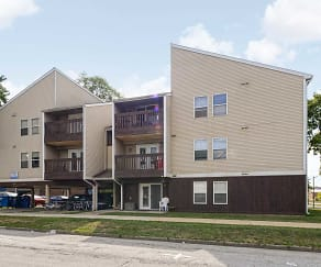 Building, Pfeffer Apartments