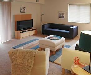 Living Room, Timber Lake Apartments