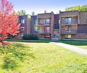 Building, Thayer Garden Apartments
