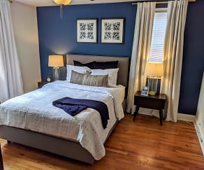Bedroom, The Villas at Bryn Mawr Apartment Homes
