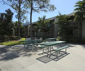 Courtyard, River Place Apartments