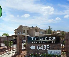 Community Signage, Tierra Ridge