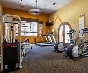Fitness Weight Room, Pillar at Taviano