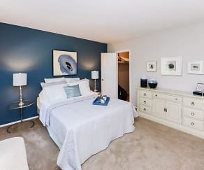 Bedroom, Brookside Manor Apartments & Townhomes