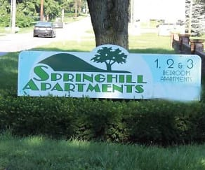 Community Signage, Springhill Apartments