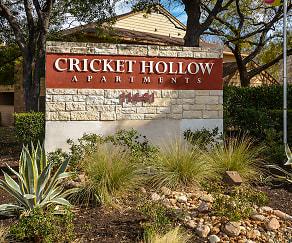 Community Signage, Cricket Hollow