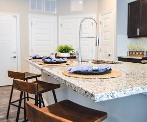 Kitchen, Silver Oaks Apartments