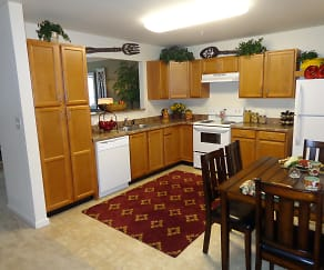 Kitchen, Senior Living at Reflections