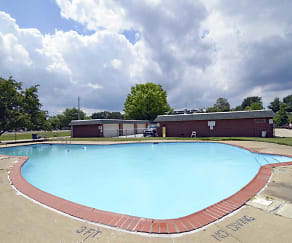 Pool, Jamestown Village Apartments