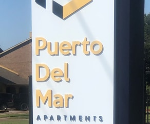 Community Signage, Puerto Del Mar Apartments