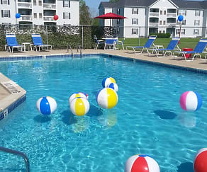 Pool, Fairfax Apartments