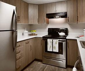 Kitchen, Clover Creek Apartments