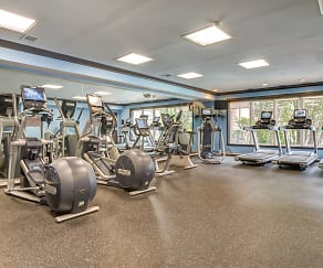 Fitness Weight Room, Gaslight Commons